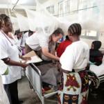 Mt. Meru Hospital Examining Child