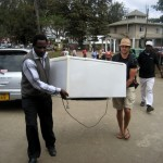 Donation of a Fridge to Mt. Meru Hospital for storage of PPD