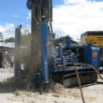 Zaire Ward Drilling for water in Tanzania Africa