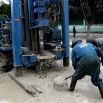 Drilling for Water in the Zaire ward of Tanzania Africa. Orphans Foundation Fund project for the community!