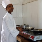 Orphans Foundation Fund CORDAID Street Children Project girl who has learned cooking