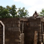 Guard House on the Njiro construction site of Orphans Foundation Fund in Arusha Tanzania Africa