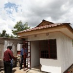 Orphans Foundation Fund guard house on the Njiro Project site