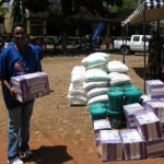 Vodacom donates water filters to 25 orphanages helped by Orphans Foundation Fund in Arusha Tanzania