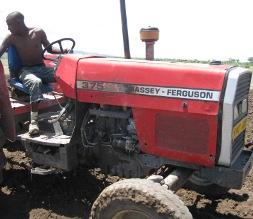 Rafiki Farm tractor