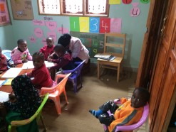 Children at Peace & Joy day care