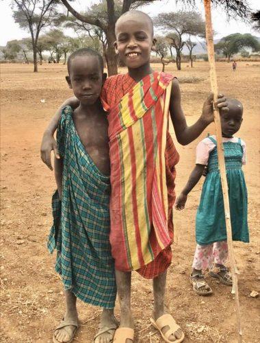 Help the Maasai